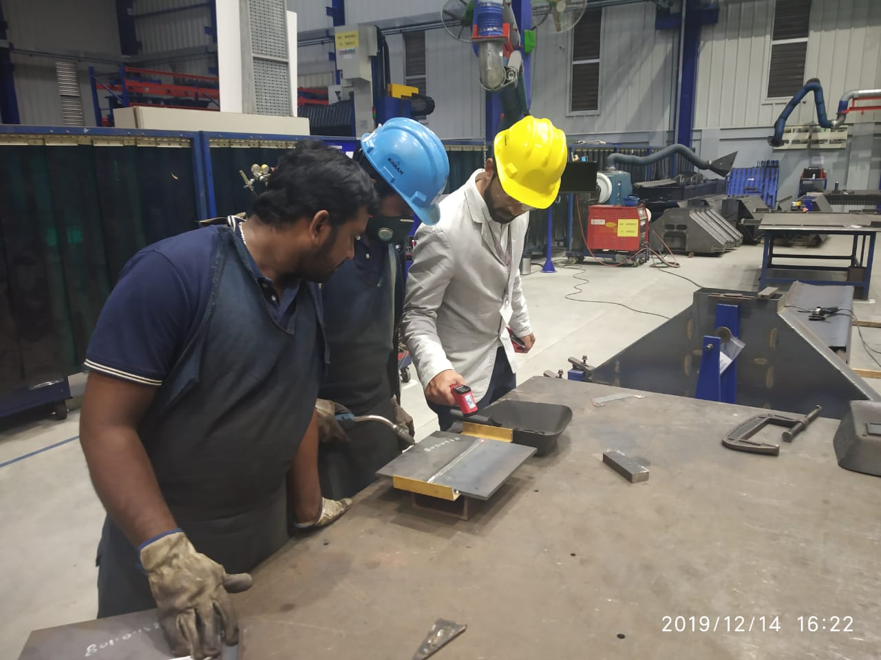 Welding inspection Methods