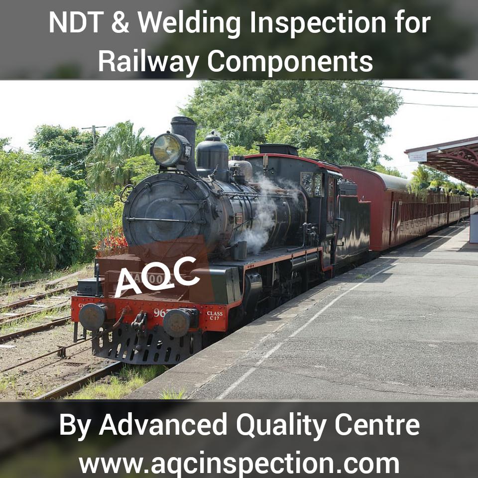 Welding inspection in Railways