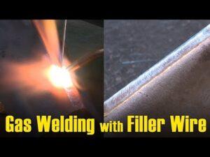 Gas welding procedure