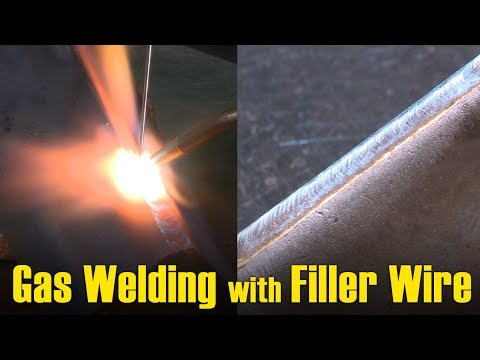 Gas welding procedure