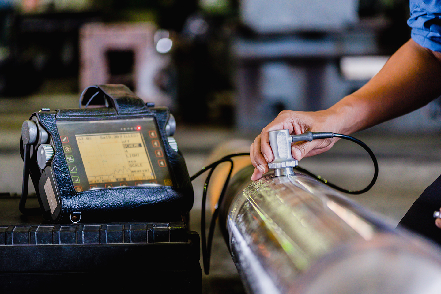 Discontinuities in Ultrasonic Testing in NDT