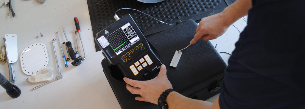 What is eddy current testing in NDT?
