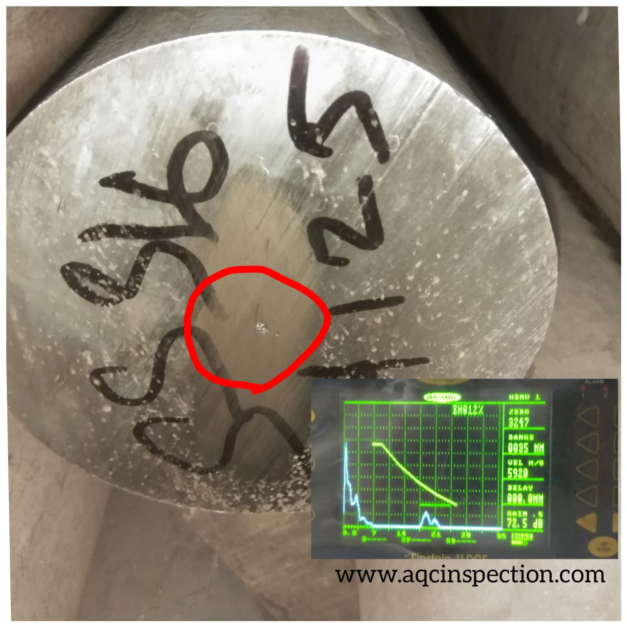 Acceptance Criteria for Ultrasonic Testing