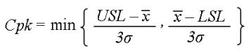 Process capablity Index-AQC